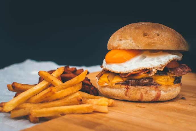 hamburguesa especial La Porteña